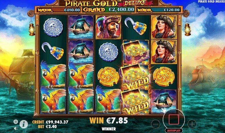 PIrate Gold Deluxe wild