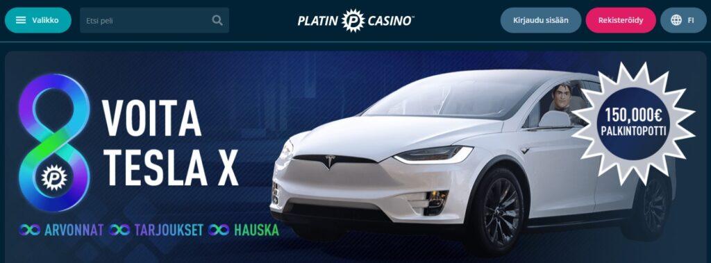 Platin Casino Tesla