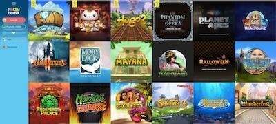 PlayFrank pelaa suosikkipelejä mukavassa ympäristössä!