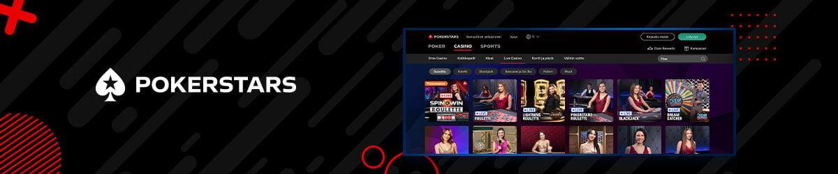 Poker Stars livekasino