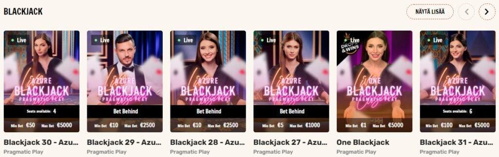 Rapid Live-kasino