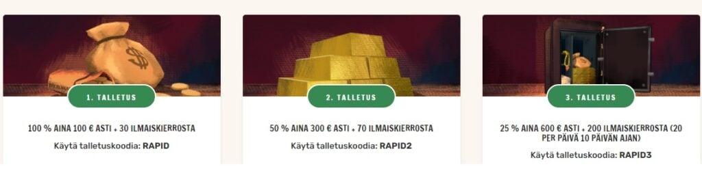 Rapid bonus