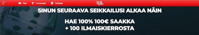 Rolla casino home page