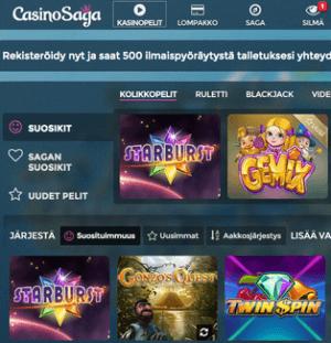Casino Saga Pelit