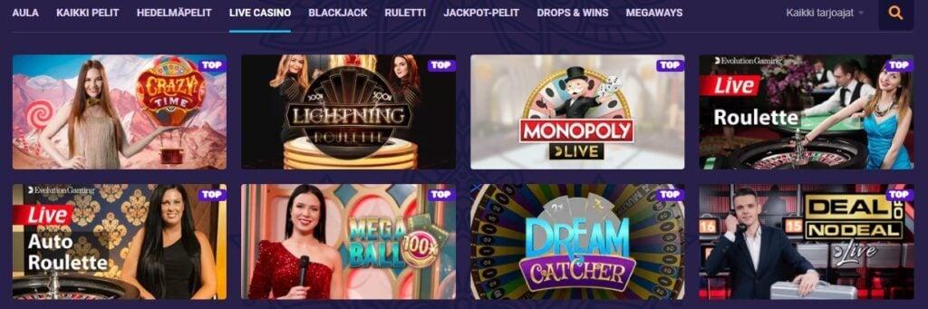 Samosa Live-Casino