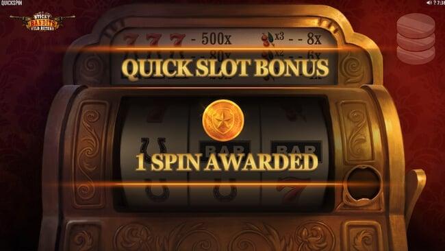 Quick Slot bonustoiminto
