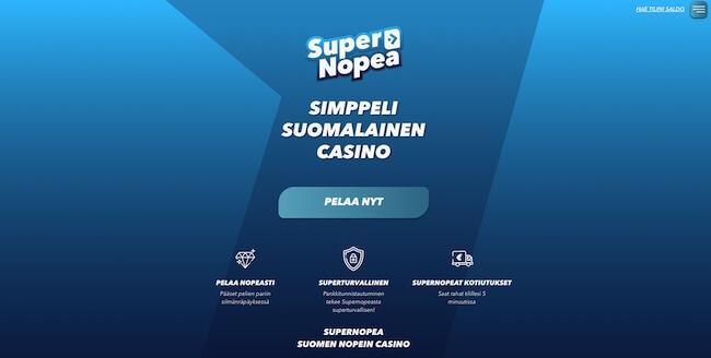 Super Nopea kasino