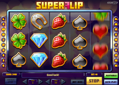 Super Flip kolikkopeli