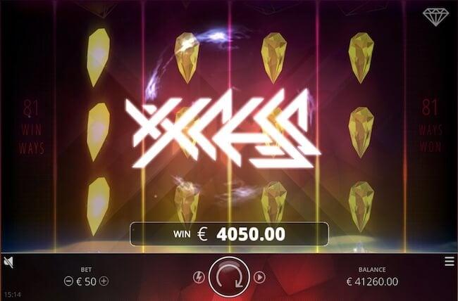 Hurja voitto Wixx pelistä!
