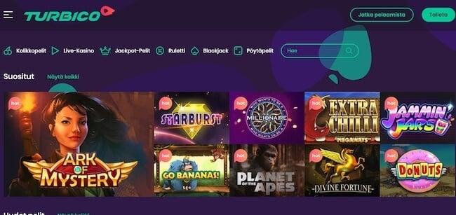 turbico kasino