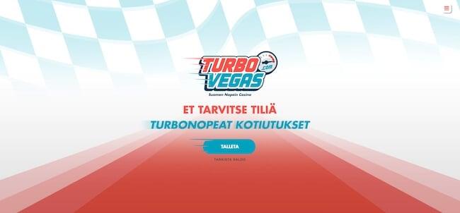 TurboVegas kasino etusivu