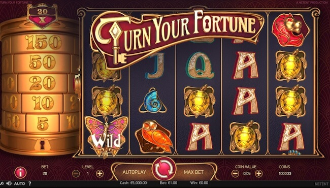 Turn your Fortune aloitus