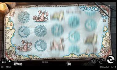 Uncharted Seas kolikkopeli