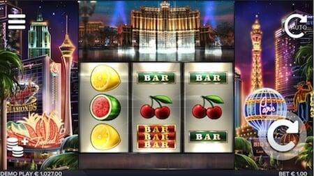 Vegas Diamonds pelin symboleita