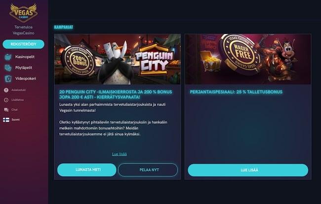 kasinokampanjat