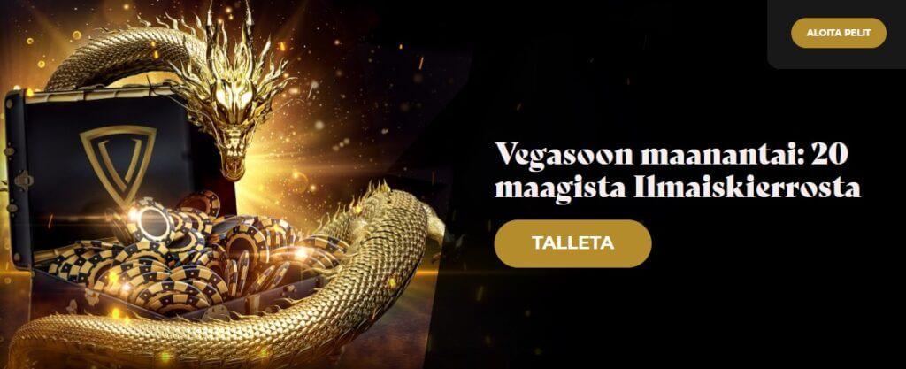 Vegasoo tarjous