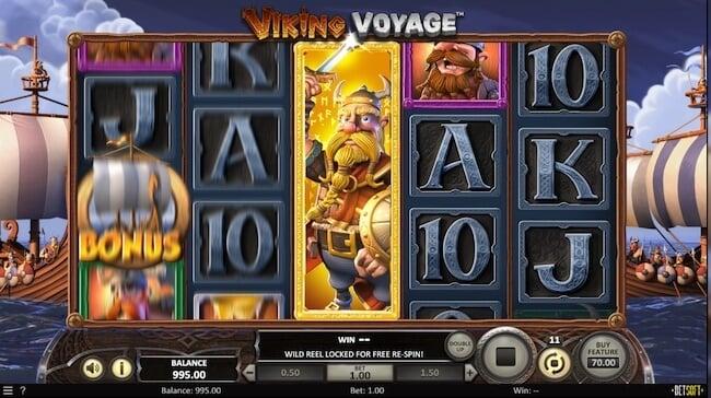 Viking Voyage pelin wild