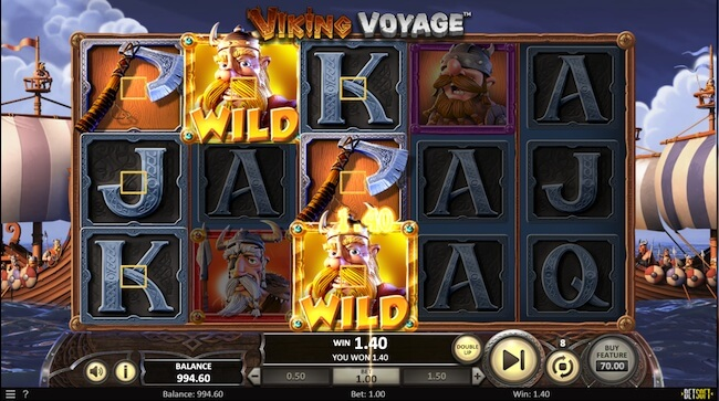 Viking Voyga pelin voitto