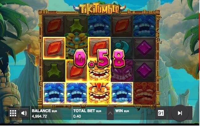 Voita pelistä Tiki Tumble