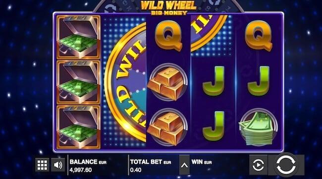 Wild Wheel pelin symbolit
